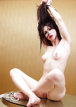 Gothic girl nude